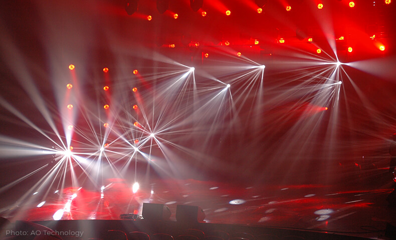 Eurovision Song Contest - Arts Outdoor Lighting Technology