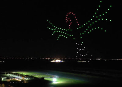 Images in the Dubai sky