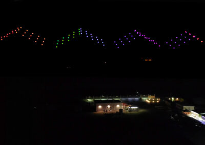 High performance drone shows
